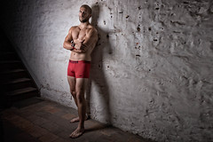 Studio John D. (août 2017) (Vision Factory) Tags: physique male studio muscle homme gymnastic streetworkout masculin man underwear