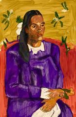 Copy of Gauguin (Ujwala Prabhu) Tags: gauguin 2017 ujwala sketch adobe photoshop digital master copy