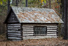 Log Cabin - Harbison State Forest - Irmo, S.C. (DT's Photo Site - Anderson S.C.) Tags: canon 6d 135mmf2l lens log cabin harbison state forest irmosc vintage pastoral landscape south carolina building house lodge rural country road america usa
