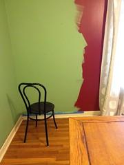 red green- opposites (trifarm1) Tags: flickrfriday redgreen arkansas home decorating opposites wall