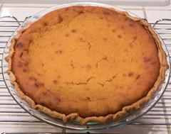 Kabocha Squash Creme Fraiche Pie (SteveA07) Tags: