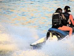 Boatercycle (thomasgorman1) Tags: boatercycle jetski waverunner watercraft people man woman river fun recreation recreational colorado canon arizona water splash acceleration wet