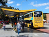 Sydney Buses - B-Line Northern Beaches - ST 2862 loads passengers at Brookvale (Warringah Mall) (john cowper) Tags: buses bline northernbeaches warringahmall brookvale pittwaterroad sunday sunny suburb transportfornsw statetransit sydneybuses sydney newsouthwales