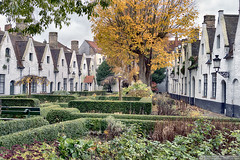 Almshouses in Bruges (EVERY SO OFTEN) Tags: almshouses bruges belgium europe eu charity charitable dwellings built 14thcentury gardens sheltered houses age elderly widows outdoors daylight colour november autumn alms architecture housing buildings homes private secluded quiet peacefull rest peace community sonya6300 sigmae30mmf28