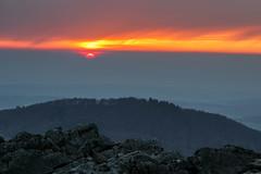 Sonnenuntergang in der Rhön (Gr@vity) Tags: rhön sonnenuntergang sunset milseburg canon m5