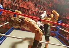 Superkick Cena (JoeyDee83) Tags: wwe wwf wrestling smackdown sdlive clashofchampions ppv superkick party shaun michaels bullet club young bucks action figuire toy mattel john cena