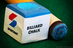 Chalk it up IMG_7536-1 (matwith1Tphotography) Tags: matwith1t canon eos70d 70d 100mm billiards chalk poolcue macro macrophotography macromondays memberschoicegamesorgamepieces