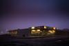 Plaza at dawn (jxtr) Tags: purple longexposure longexpo night dawn pharmaplus durhamregion townofajax plaza 1950sstripmall