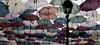 Un pluie de parapluie (Stéphane Corvillo) Tags: unepluiedeparapluie umbrela orléans parapluie de couleuré parapluiedecouleur