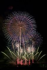 2017 いばらきまつり 2017 Ibaraki Festival (ELCAN KE-7A) Tags: 日本 japan 茨城 ibaraki いばらき 花火 fireworks スターマイン starmine 野村花火工業 野村 nomura ペンタックス pentax k3ⅱ 2017