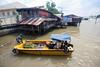 Chao Phraya river (_gem_) Tags: travel bangkok thailand asia southeastasia chaophrayariver chaophraya river water transportation vehicle boat city street urban
