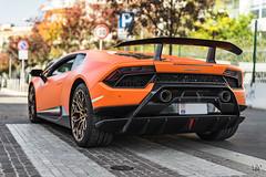 Lamborghini Huracán Performante (lu_ro) Tags: lamborghini huracán performante orange matte italy italia milan sony a7 50mm