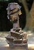 Aux capellans (haijee13) Tags: sculpture guy ferrer capellans jardin st cyprien pyrenées orientales france artiste portrait