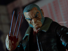 old man logan (metaldriver89) Tags: marvel marvellegends legend legends logan claws hasbro xmen action figure figures toys superhero superheroes mutant adamantium acba toybiz rage classics jimlee jim lee wolverine 90s tiger stripe tigerstripe xmenclassics brown costume 80s series 6 six astonishing uncanny custom articulatedcomicbookart articulated comic book art actionfigure actionfigures toy toyphotography super hero heroes avengers mutants team outdoo