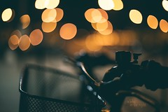 A bike in the night _ #33/100 Bike Project (pierfrancescacasadio) Tags: bicicletta bike bokeh novembre2017 02112017840a3140 33 bicycle 100bicycles project detailed details bikes cycling 100bicyclesproject 50mm