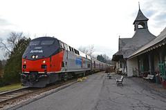 Capital Region Toys For Tots Train Westport NY (ERIE1960) Tags: railroad railfan trains locomotive adirondacks amtrak canadianpacific delawareandhudson dh diesellocomotive newyorkrailroads westportny