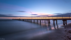 """Piering"" into the Distance DSC_2098 (BlueberryAsh) Tags: altona pier beach longexposure altonapier jetty seascape sea water australianseascape cloudsstormssunsetssunrises nikond750 nikon 1635 sand clouds outdoors melbourne leefilter lee nd filter leendgraduatedfilter sunset"