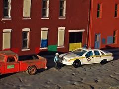 1996 ( 12/12/2017 ) (THE RANGE PRODUCTIONS) Tags: greenlight racingchampions dodged100 1992chevycaprice chevrolet dioramas diecast diecastdioramas model modular toy 164scale hoscalefigures