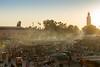 Sundown at Jemaa el Fnaa (jennifer.stahn) Tags: travel travelphotography marokko morocco marocco marrakech marrakesch marrakesh djemaa djemaaelfna elfnaa bigsquare sundown sonnenuntergang jemaa jemaaelfnaa square nikon