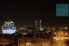 Las Tablas, distrito Fuencarral-El Pardo (Madrid - España) (jsg²) Tags: jsg2 fotografíasjohnnygomes johnnygomes fotosjsg2 viajes travel unióneuropea europa europe ue europeanunion reinodeespaña español española spain madrid villaycorte losmadriles lacapital lastablas ciudadbbva lavela a1 herzogdemeuron cuatrotorresbusinessarea torrecepsa torrebankia torrerepsol torrepwc torredecristal torreespacio
