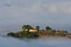 Emersione (luporosso) Tags: natura nature naturaleza naturalmente nikon nikonitalia nikond500 imdifferent nebbia fog autunno autumn sabina montopolidisabina italia italy alberi trees allaperto paesaggio paesaggi landscapes
