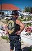 Tribute to Johnny Hallyday (Pierre de Champs) Tags: johnny johnnyhallyday tribute bikers stbarth fwi france lorient rock rocknroll caribbean tropical photo photographer photojournalism photoreportage portrait music nikon d750