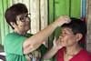 Programa de Erradicação da Oncocercose nas Américas - Terras Yanomami (Secretaria Especial de Saúde Indígena (Sesai)) Tags: outubro 2017 oncocercose erradicação dseiyanomami indígenas enfermeira medição homem tratamento polóbasexitei yanomami roraima