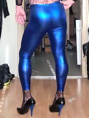 blue metallic # 18 (trapez) Tags: amazing beautiful body boy butt bulge blue blau cool crossdressed crossdresser cd crosdressing cosplay eng fun fishnet glänzend glanz geil gear guy glanzleggings ganzanzug gurl hot high hottie heels lycra lingerie leggings man mann netz net outfit shiny sexy schön spandex suit stockings schuhe shoes shine tight wetlook