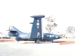 "Grumman F9F-2 Panther 3 • <a style=""font-size:0.8em;"" href=""http://www.flickr.com/photos/81723459@N04/38179837331/"" target=""_blank"">View on Flickr</a>"