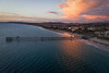 California Drama (Roving Vagabond aka Bryan) Tags: sanclemente ca california sunset pier ocean water pacific sea seaside sand houses dji drone djiphantomiv clouds cloud beach landscape seascape sky mountain city explore dusk