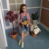 Teresa (Karine'S HCF (Handmade Clothing & Furniture)) Tags: barbie chaleco handmade rosa fashionista punto amano teresa