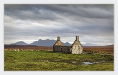 Moine House (Katybun of Beverley) Tags: moinehouse themoine lairg sutherland scotland cottage ruin ruined landscape kyleoftongue scenery scenic rural outdoors sky benloyal refuge moorland bog