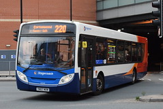 SY 22545 @ Doncaster Frenchgate bus station (ianjpoole) Tags: stagecoach yorkshire man 18240 enviro 300 yn57mxh 22545 working route 220 doncaster frenchgate bus station dearne valley parkway cortonwood