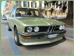 BMW 525 (E12) (v8dub) Tags: bmw 525 e 12 schweiz suisse switzerland neuchâtel german pkw voiture car wagen worldcars auto automobile automotive youngtimer old oldtimer oldcar klassik classic collector
