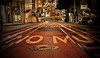 Trolly Hills (街 Straße ストリート Calles الشوارع) Tags: streets trolly cali usa america tracks night lights sf sanfran thebay city downtown hill rolling red dark