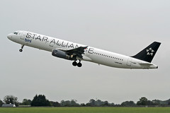A321 G-MIDL BMI\STAR ALLIANCE (shanairpic) Tags: jetairliner a321 airbusa321 dublin bmi staralliance gmidl