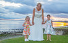 141 Emma, 2 girls sunset (ian.ryan09) Tags: red wedding park bride groom children humberbridge sunset water