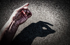Hungry like the Wolf (Kevin_Jeffries) Tags: fingertips nikon d800 nikkor hungrylikethewolf art wolf shadowplay hand zombie creative childsplay fingershadow 240850mmf3545 hunger