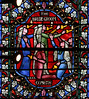 The Bridegroom Cometh (Lawrence OP) Tags: biblical parable wise virgins foolish lamps stainedglass national cathedral washingtondc