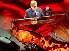 Sir Elton (BKHagar *Kim*) Tags: bkhagar eltonjohn sireltonjohn star musician legend lasvegas caesarspalace themilliondollarpiano piano stage music concert tickets nikon coolpix pointandshoot a900