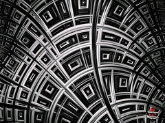 The house of the 1000 windows (Yarin Asanth) Tags: artwork lines white black fractals windows house yarinasanth yarinasanthphotography gerdkozik gerdkozikphotography