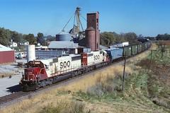 Soo Line 6039 764 Westbound Manifest M.P. 436.2 Ludlow MO (Railblazer) Tags: sooline soolinerailroad soolinerailway soo soolinefreighttrain soolinetrain freighttrain soolinesd60 emd emdsd60 sd60 sd60locomotive soolineludlowmissouri ludlowmissouri