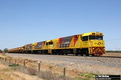 P2513 P2506 P2504 3721 ore Narngulu 14 November 2017 (RailWA) Tags: railwa philmelling aurizon geraldton midwest p2513 p2506 p2504 3721 ore narngulu