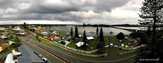 View of Lakeside Festival 2017 and Foreshore from Sunrise Appartments, Tuncurry, NSW (Black Diamond Images) Tags: lakesidefestival greatlakeslakesidefestival tuncurrylakesidefestival forster nsw greatlakesnsw wallislake wallislakebridge johnwrightpark tuncurryforeshore sunriseappartments sunrise 8thfloorbalcony vantagepoint clouds park lakesidefestival2017 2017lakesidefestival theblacksorrows blacksorrows forstertuncurry australia stormclouds appleiphone7plus iphone7plus panorama appleiphone7pluspanorama iphone7pluspanorama iphonepanorama