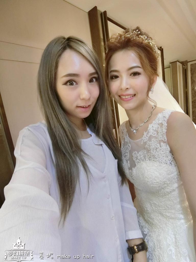 【新秘蓁妮】brideNINI 結婚造型 / 台中葳格國際會議中心