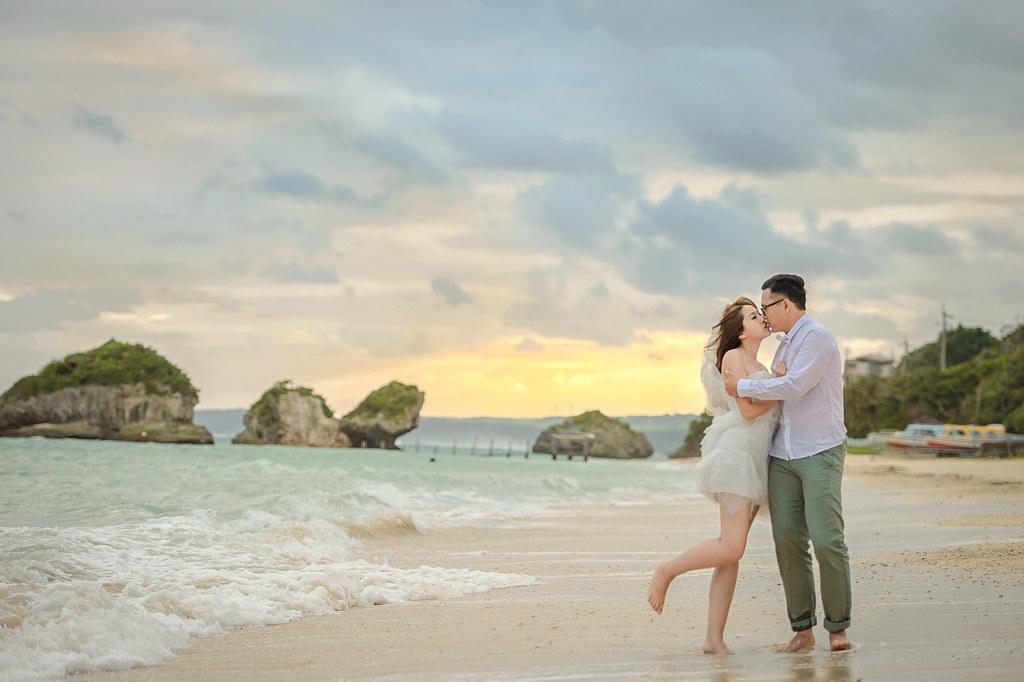 沖繩婚紗 新原沙灘婚紗拍攝