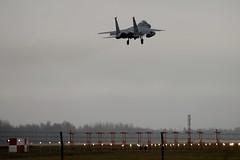 86-0164 DSC_2309 (sauliusjulius) Tags: f15c eagle the 493d fighter squadron 493 fs thegrimreapers us air force usaf bap baltic policing quick reaction alert qra lithuania siauliai sqq eysa 860164