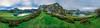 Panoramica Lagos de Covadonga en Picos de Europa (Iñigo Escalante) Tags: asturias picos de europa landscape sunrise europe españa green spain mountain valley hill panoramic lagos scenics lakes scenery amanecer otoño ridge scenic covadonga peak range bad weather panoramica snowcapped