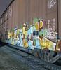 ERUPTO (TRUE 2 DEATH) Tags: erupto erupto327 327 a2m boxcar train freight railroad benching railfan railcar trains graffiti graf railways tag freighttrain freighttraingraffiti rollingstock longexposure