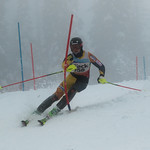 FIS Coaches Cup Sun Peaks Men's SL-1st place Devin Mittertreiner (WVSC) PHOTO CREDIT: Chris Naas
